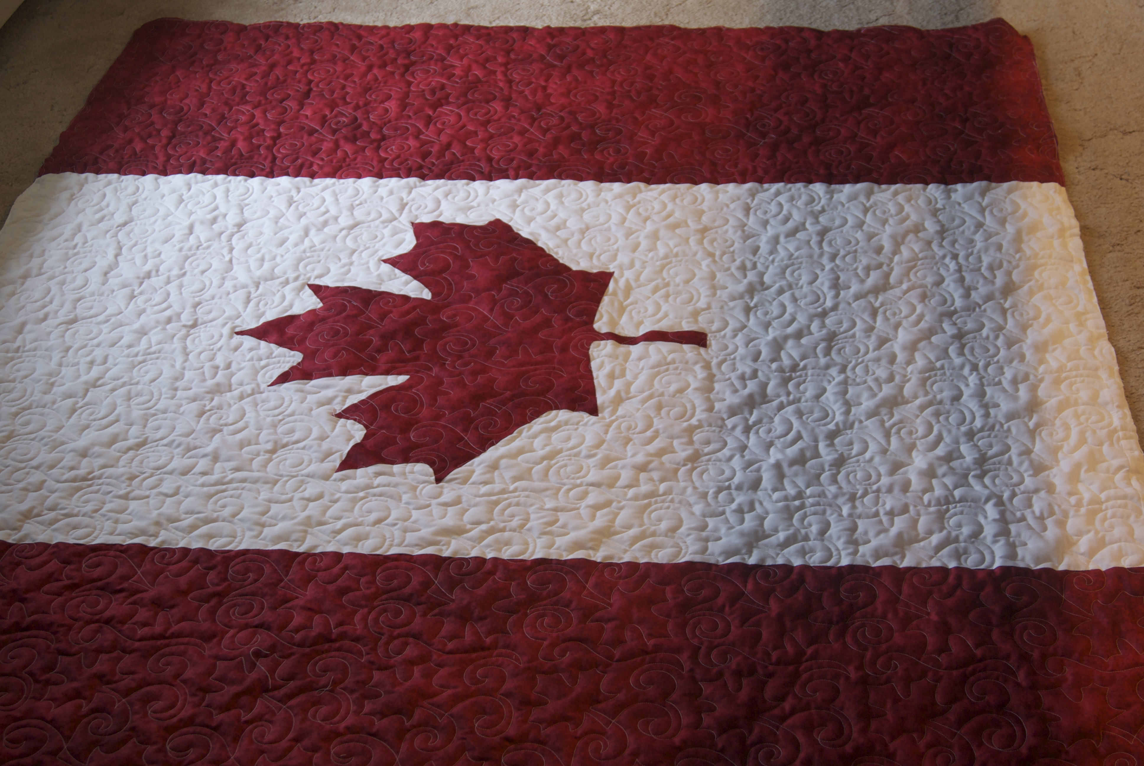 Summer is flying by… – Stitching Impressions : canadian flag quilt - Adamdwight.com
