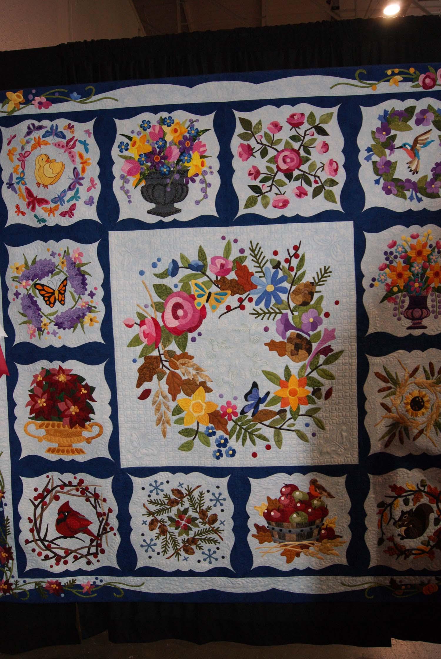 Canadian Quilt Show-Part 2 – Stitching Impressions : canadian quilt - Adamdwight.com